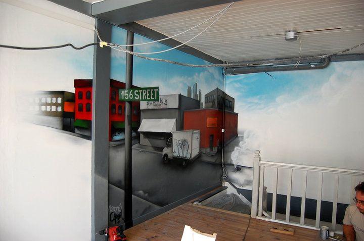 Nerone, Le Coktail, Décoration, Peinture, Arcachon, Street, New York, Brooklyn