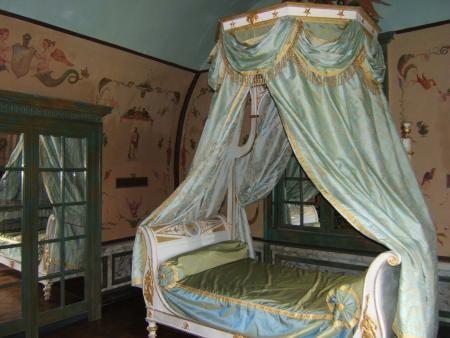 Boudoir De La Chambre De Parade Du Chateau De Bonnemare Decoration Francaise Boudoir Chambre