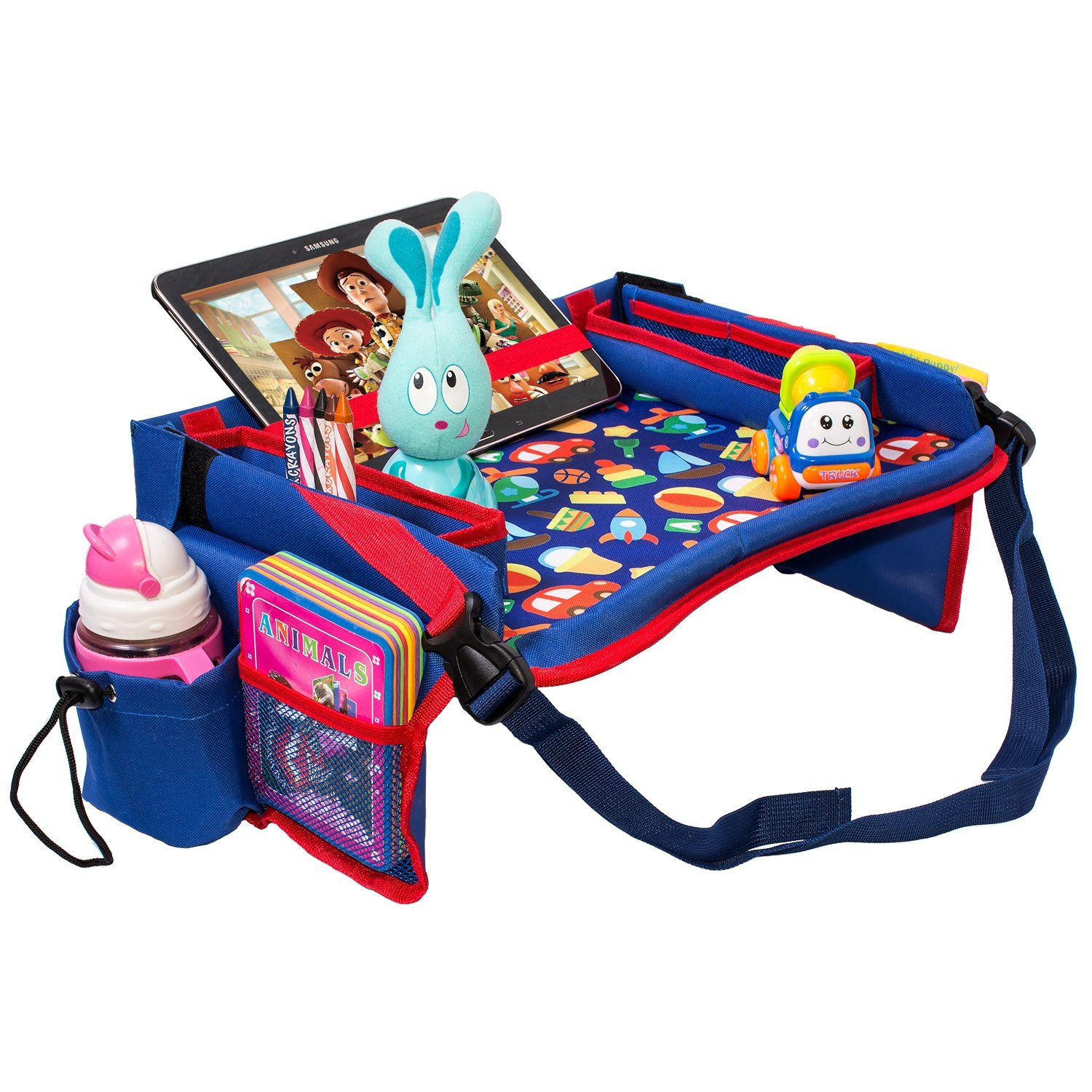 Toddler Car Seat Travel Tray by DMoose 16Inchby12Inch â