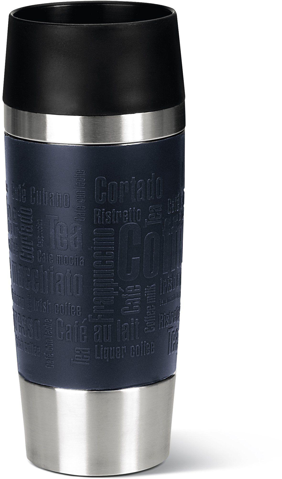 emsa 513357 isolierbecher mobil genie en 360 ml quick. Black Bedroom Furniture Sets. Home Design Ideas