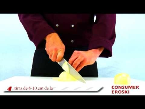T cnicas b sicas de cocina c mo cortar las verduras cocina y comida pinterest - Tecnicas basicas de cocina ...