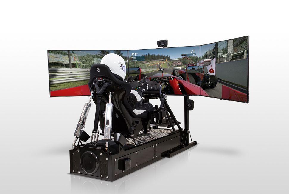 CXC Simulations Motion Pro II Racing simulator, Racing