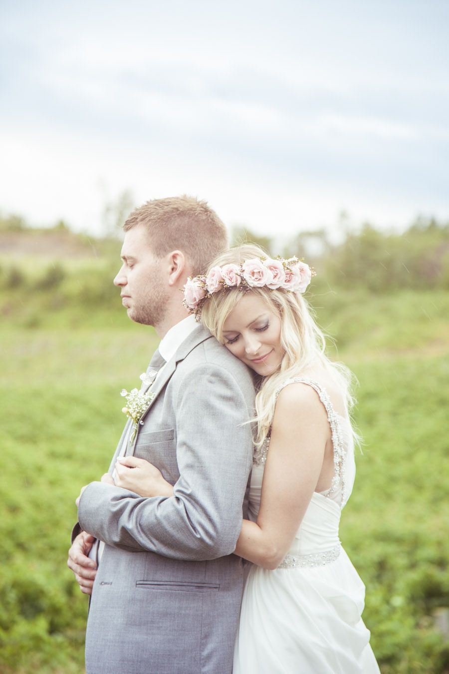 Wedding country , DIY champetre chic flower crown mariage