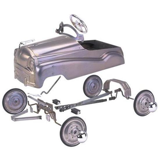 Plain finish pedal car kit pedal car car kits and cars for Speedway motors used cars