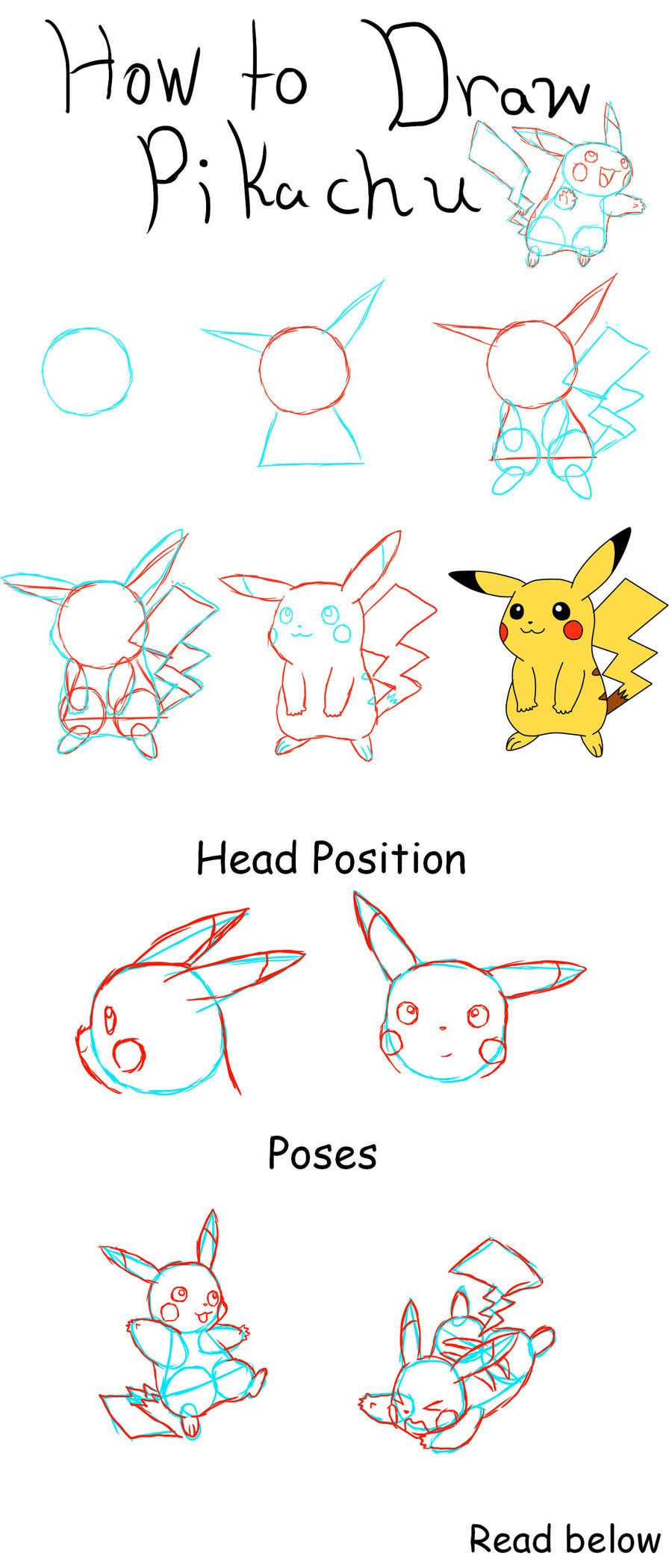 How To Draw Pikachu Pokemon Drawings Pikachu Drawing Drawings