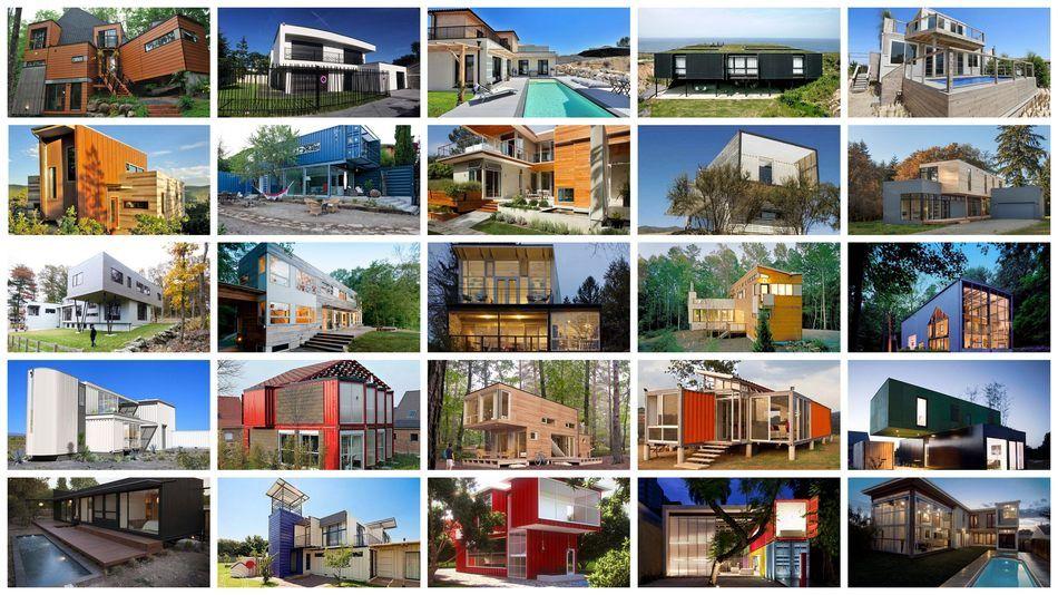Quand les containers se transforment en maison contemporaine,  #construiretendance