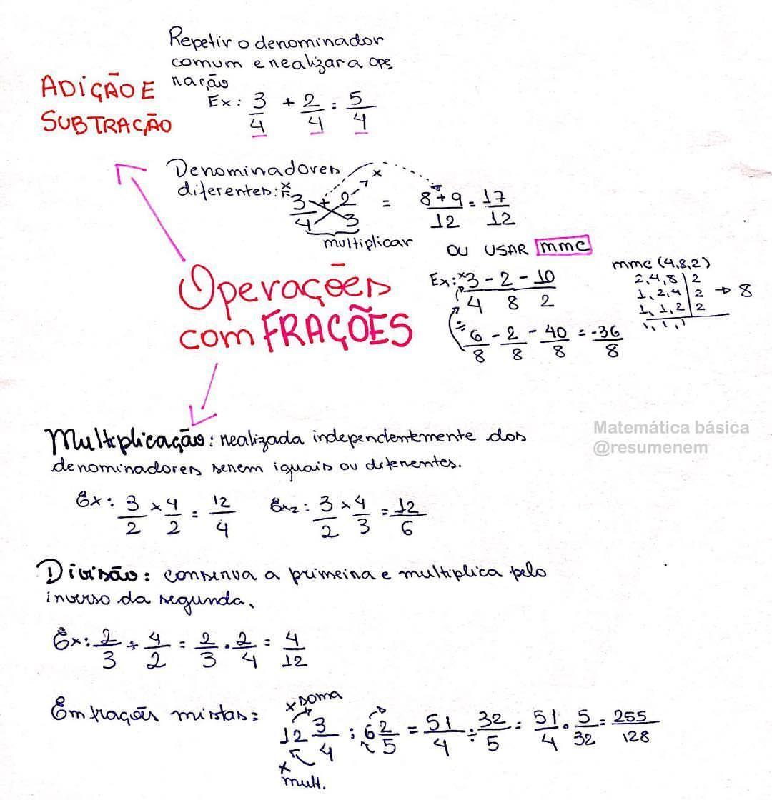 Pin De Douglas Vieira Da Costa Iii Em Matematica Ensino Medio