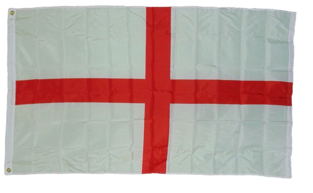 Saint George Cross England Flag Size 3 X 5 3x5 Feet New St George Polyester Quarks Flag Sizes Flag St George S Cross