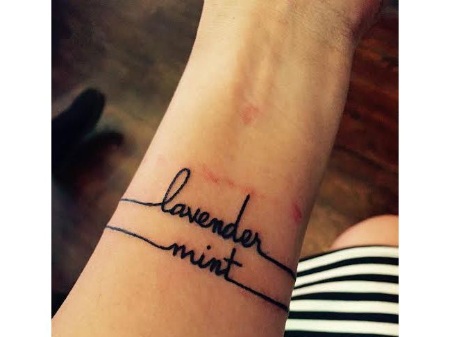 Elegant Wrist Tattoo Name Designs 37 About Remodel Simple Tattoo