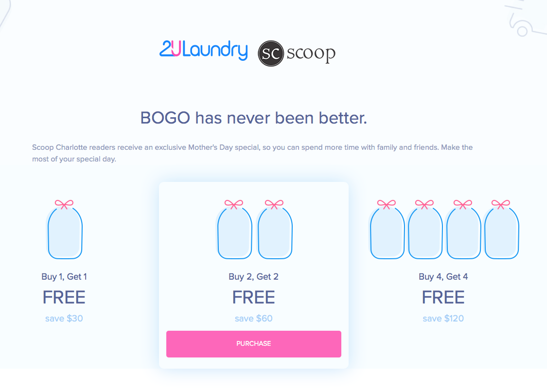 Gift Yourself If You Have To But Get This 2u Laundry Discount