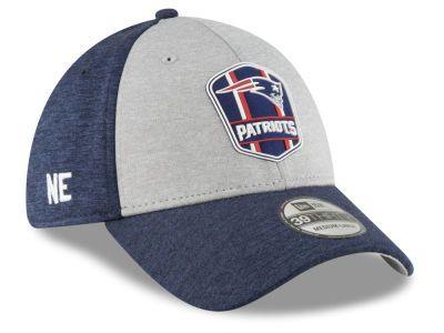 New England Patriots New Era 2018 Official NFL Sideline Road 39THIRTY Cap 213d7da568e4