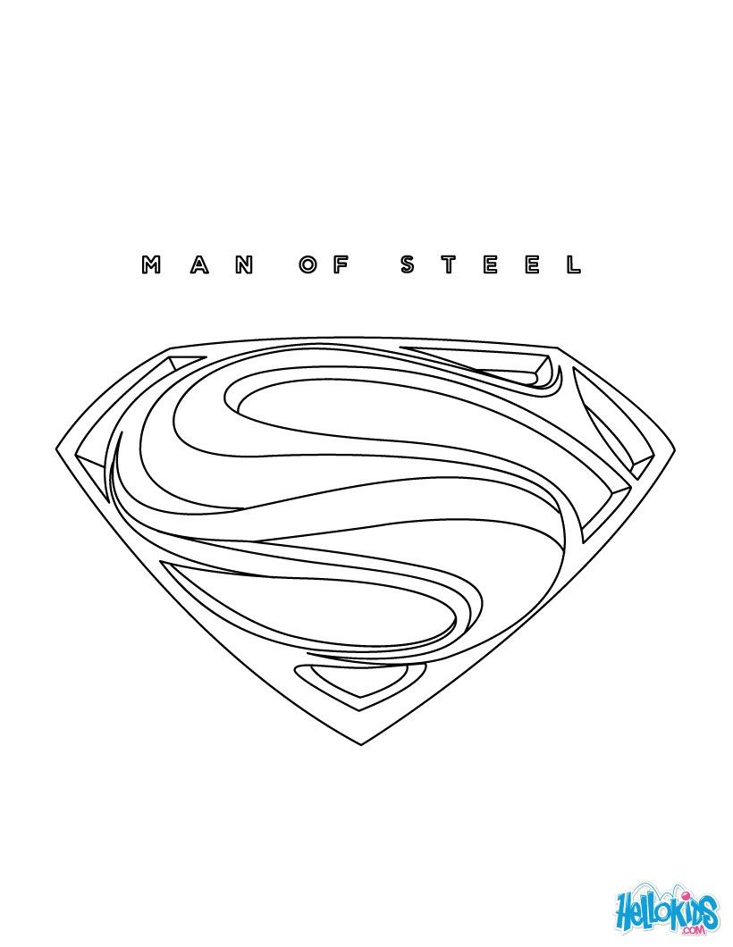 There is the Superman coloring page . Discover all your favorite ...