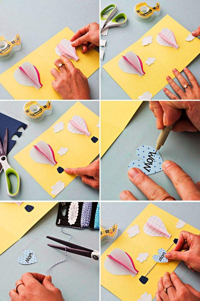 ▷ 1001 + idées de pour fabriquer une carte fête des mères en maternelle