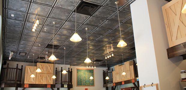 Drop Ceiling Decorative Tiles Pvc Ceiling Tiles For Commercial Applications  Home Decor