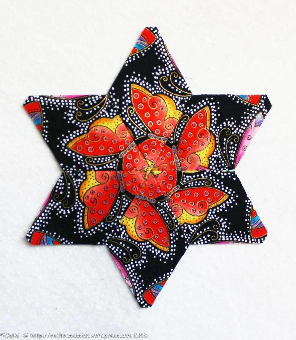 Fussy cutting star
