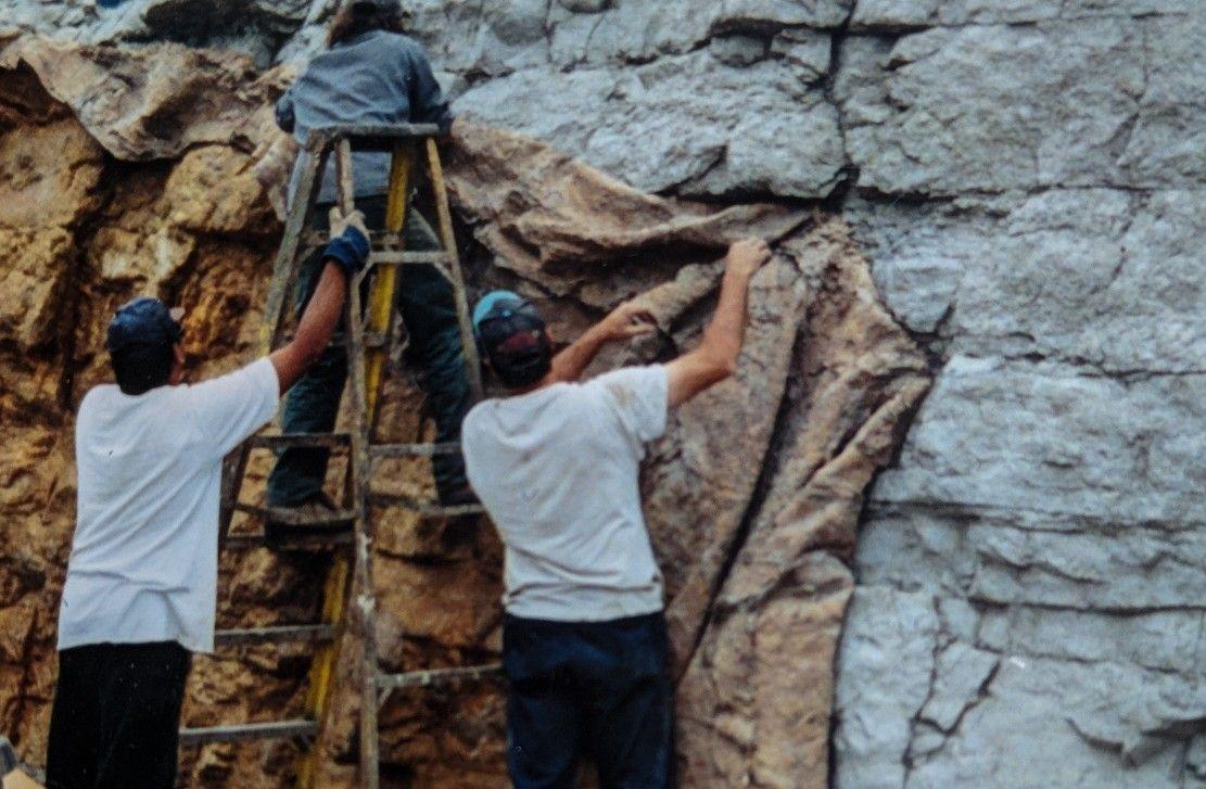 How to make artificial rock Artificial rocks, Natural