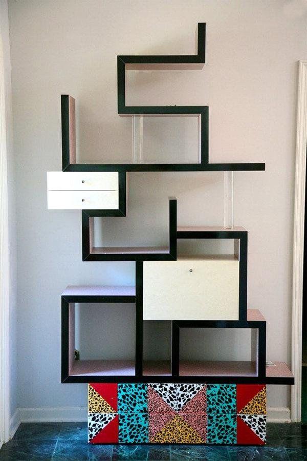 Полки для книг на стену необычные | Дизайн детской комнаты ...