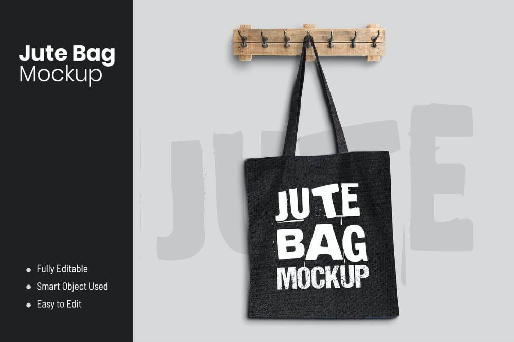 Download 20 Useful Jute Bag Mockup Psd Templates 22 Bag Mockup Jute Bags Bags