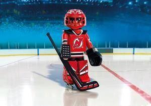 Playmobil Hockey LNH:Gardien des New Jersey Devils - Castello   Jeux et Jouets