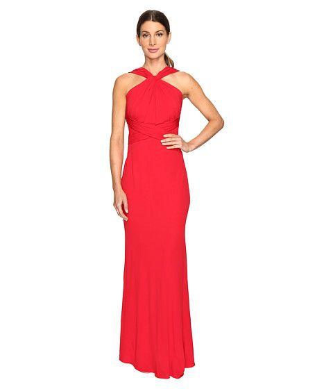 BADGLEY MISCHKA Jersey Pull Through Gown. #badgleymischka #cloth #dresses