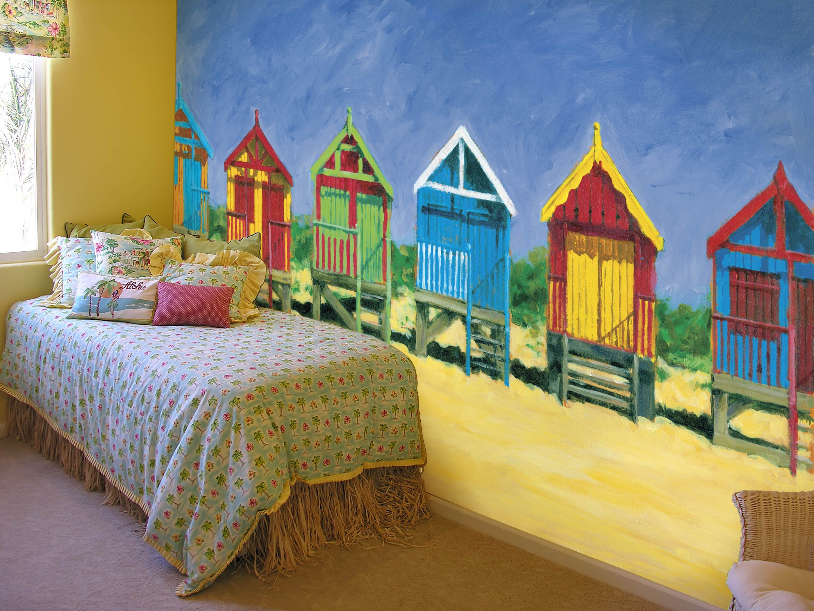Beach Hutstoo cute for a bedroom at a beach cottage