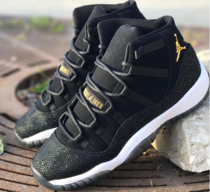 air jordan 11 heiress black  63622e786