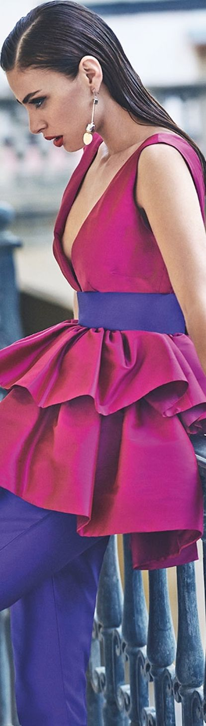 7b377e55c0ea Matilde Cano 2018 | Lovely Style | Fashion, Pink fashion και Color ...