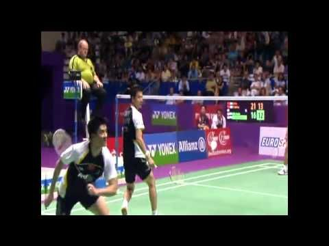 Amazing Badminton Rally - Fu/Cai vs Kido/Setiawan