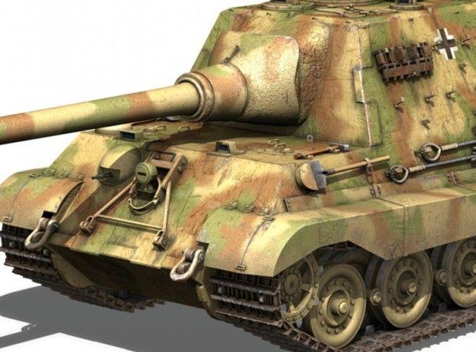 SD KFZ 186 Jagdtiger - Hunting Tiger