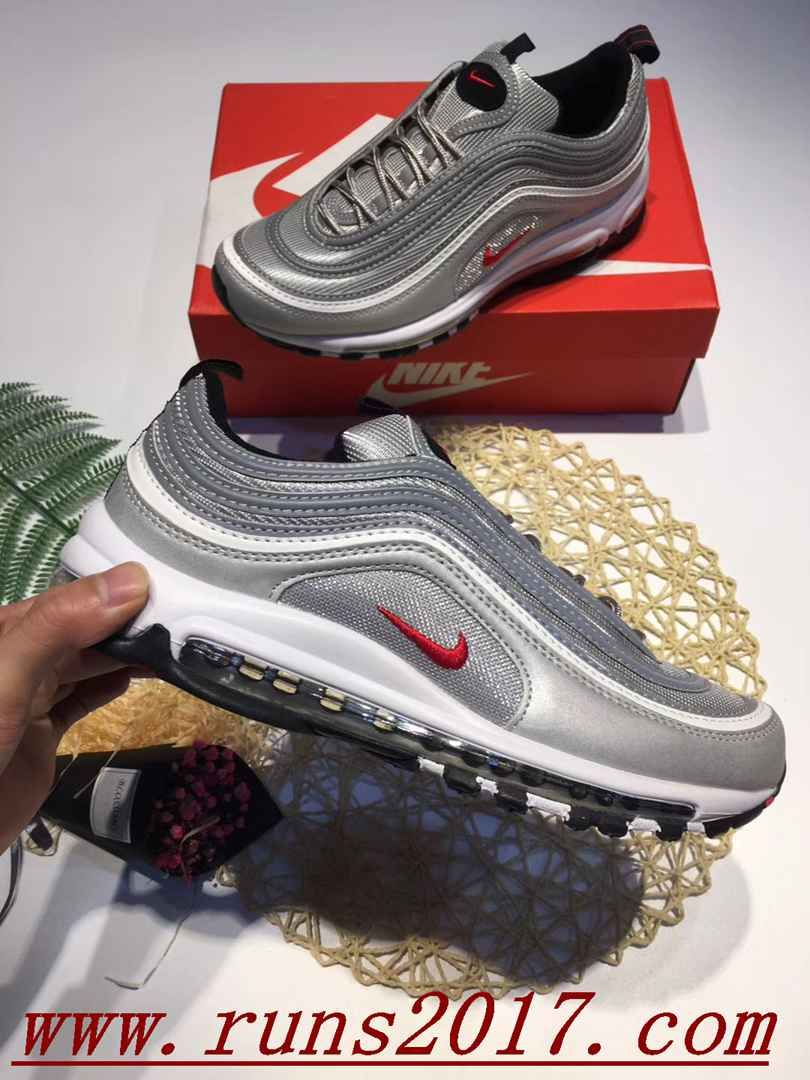 Undefeated x Nike Air Max 97 Silver  526866ec6
