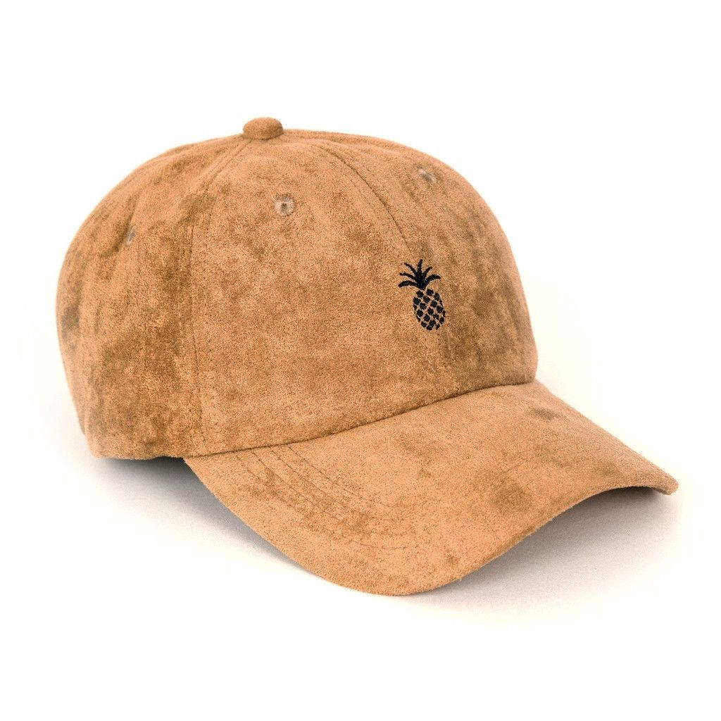 Just in  Pineapple Suede Dad Hat (Camel) You will love it!   www.thefuturedream.eu   FutureDream c47c4688ca4