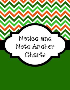 """This is an anchor chart to help your students look for the """"6 signposts"""" as they are reading:Again and AgainMemory MomentWords of the WiserAHA! MomentTough QuestionsContrasts and ContradictionsThis idea is presented in the book Notice and Note: Stratgies for Close Reading, by Kylene Beers and Robert E."""