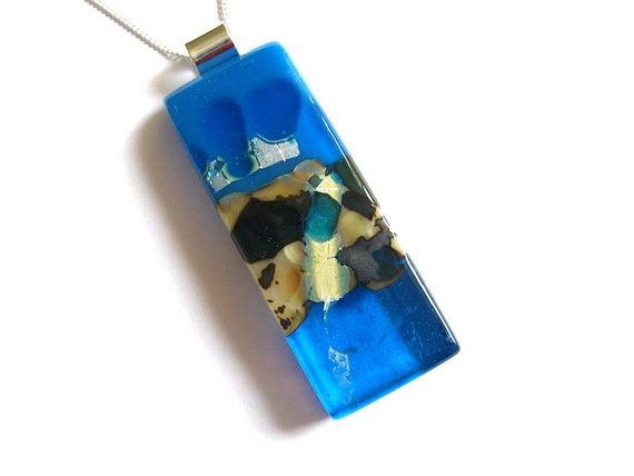 Blue necklace fused glass pendant necklace easter jewellery nl123 blue necklace fused glass pendant necklace easter jewellery nl123 gifts for her negle Image collections