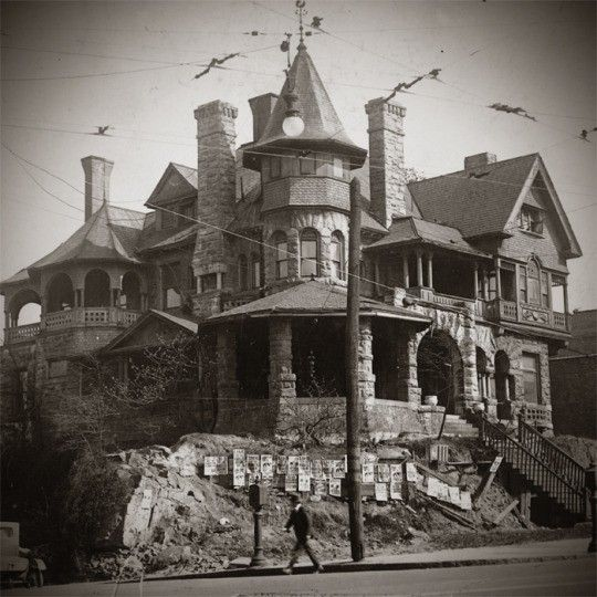 An Old Atlanta Mansion But It's Gone Now.