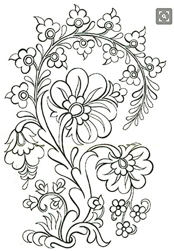 Pin By Jonda Williammee On Jacobean Embroidery Patterns Coloring Pages Folk Embroidery Embroidery Patterns