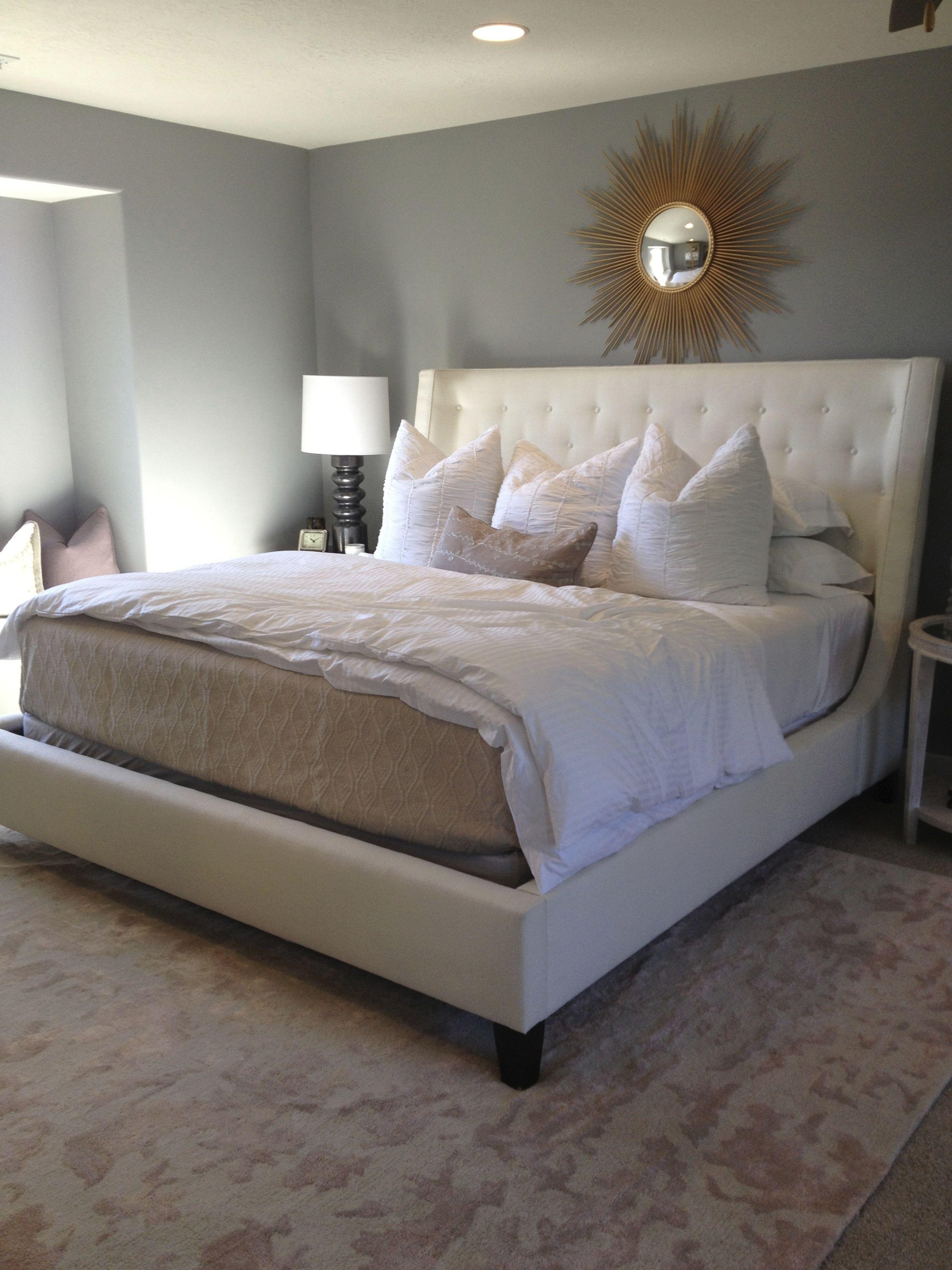Upholstered King Bed Home Bedroom Upholstered King Bed