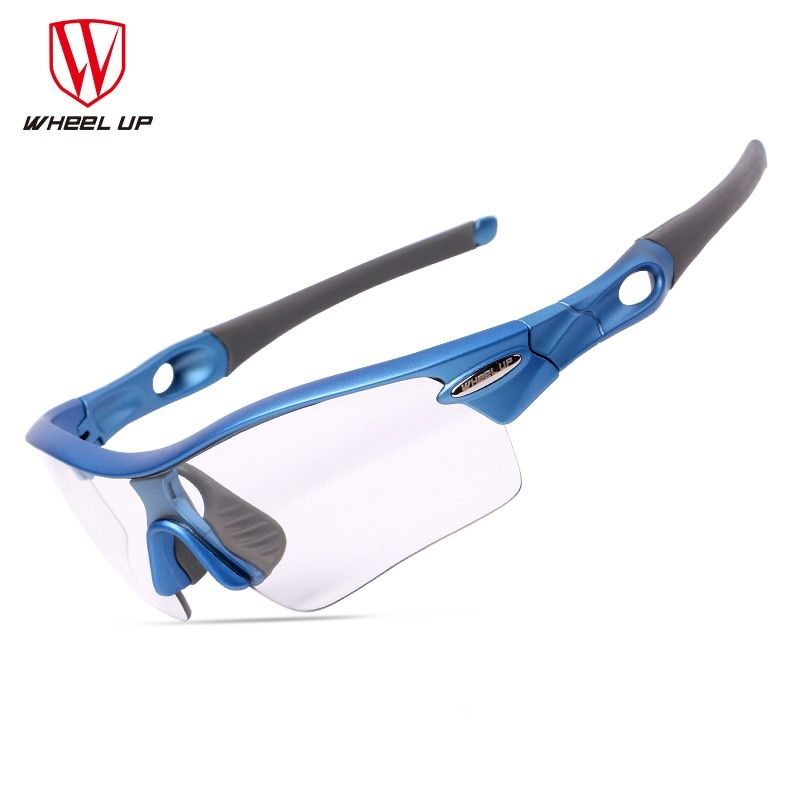Discount photochromic cycling sunglasses 3 lenses sand