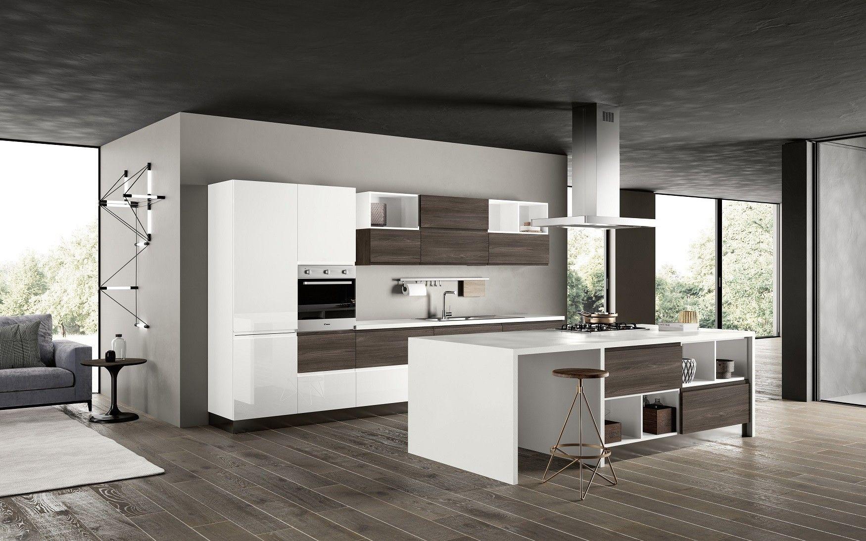 Cucina moderna nuova