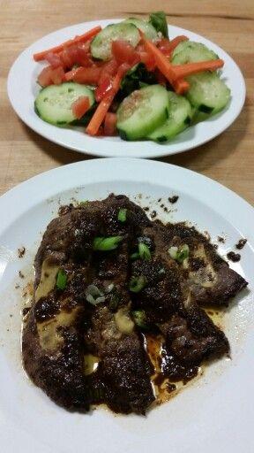 Steak Diane culinary