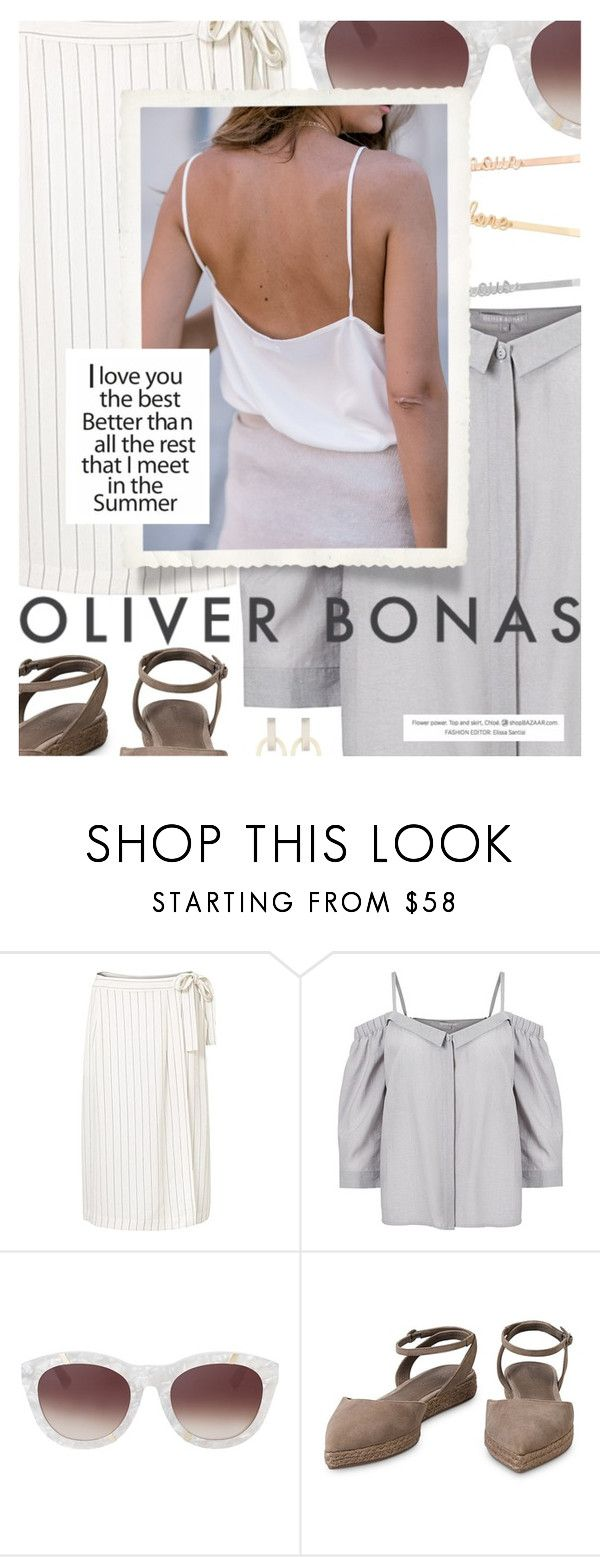 """""""Summer Fling featuring OLIVERBONAS.com"""" by cultofsharon ❤ liked on Polyvore"""