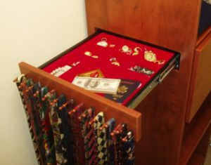 Secret Compartment Drawer Safe Built Into Furniture And Disguised