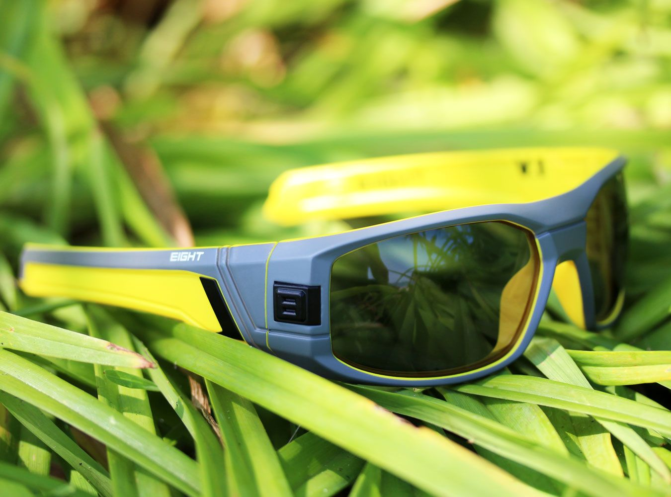 0422fff98f Matte Gray Yellow V.1 sunglasses from EIGHT Eyewear WWW.IWEAR8.COM  8eyewear   sunglasses  shades  cool  mensfashion  fashion  style  summer  eight   sports   ...