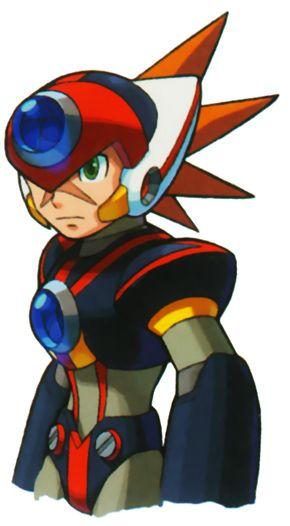 Axl Megaman X Mega Man Art Mega Man Capcom Art