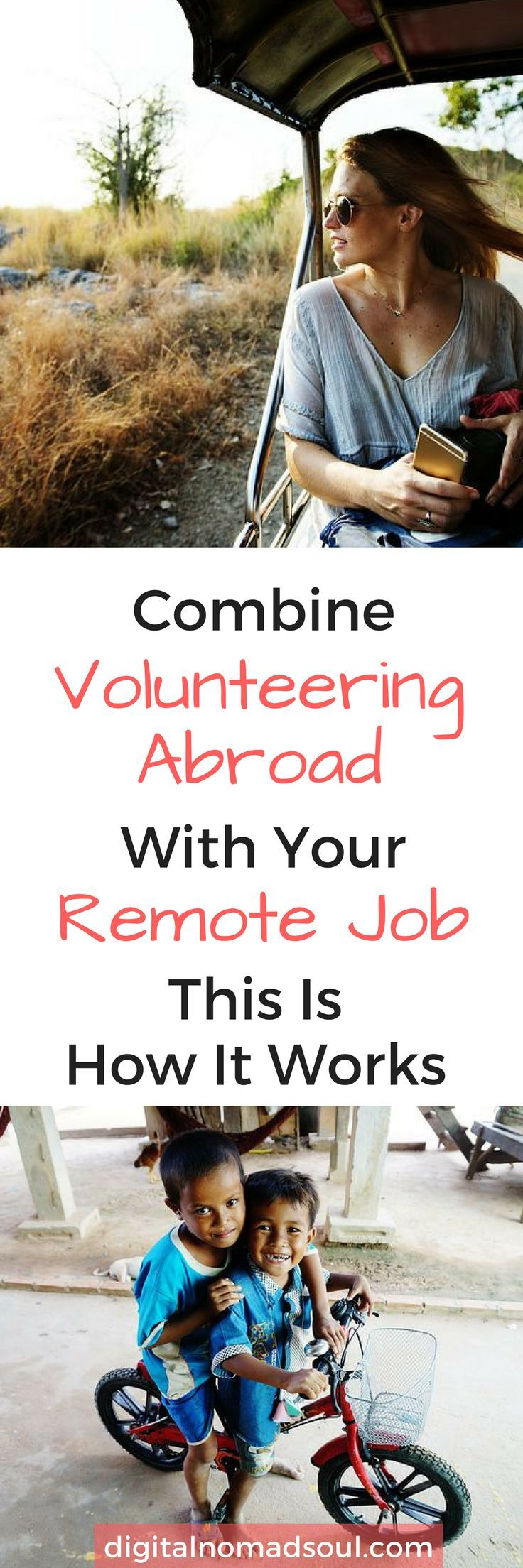 Volunteer Abroad While Working Remotely It's So Easy