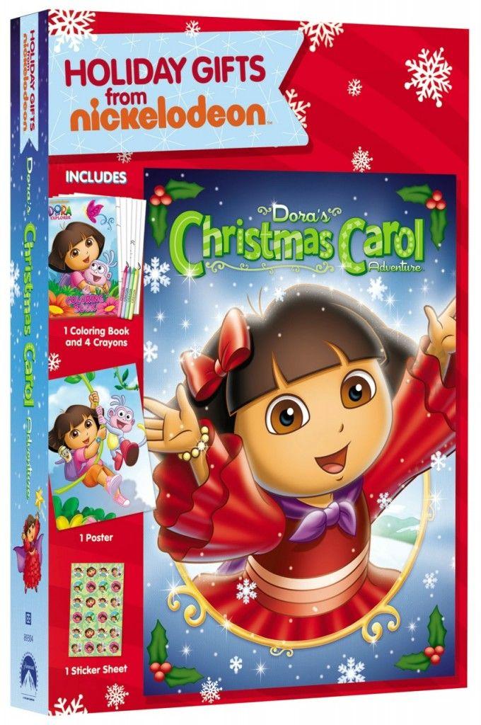 Holiday Giveaway Dora The Explorer Dora S Christmas Carol Holiday Gift Set Dora The Explorer Christmas Movies List Christmas Carol