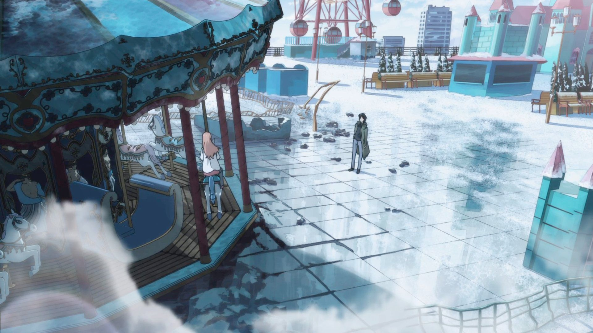 Eden of the East Anime scenery, Anime fanart, Kawaii anime
