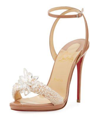 9ed2ba34da46 Crystal Queen Embellished Sandal