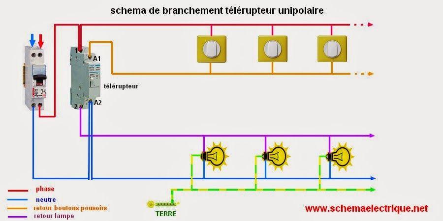 schema electrique electricite pinterest