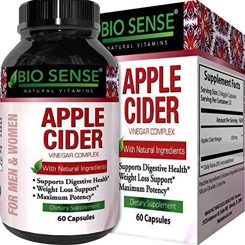 Apple Cider Vinegar Pills For Weight Loss By Bio Sense Fat Burner