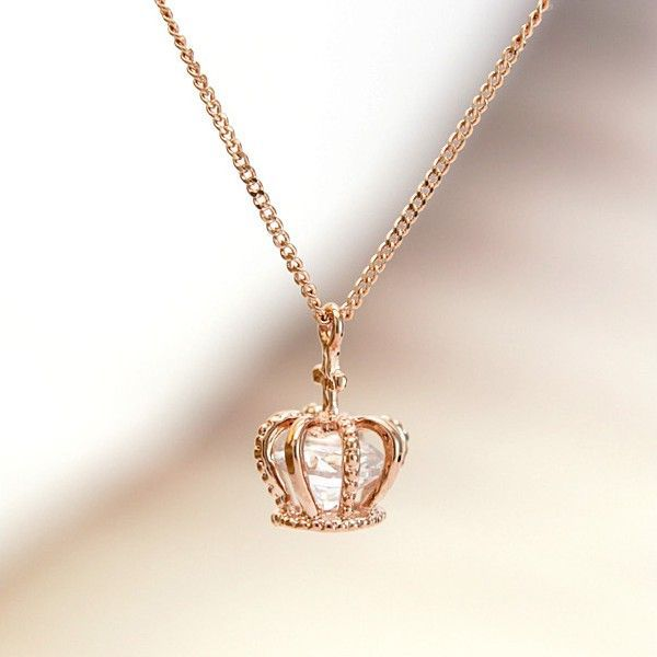 Beautiful crown cage with a diamond in it Jewelry Pinterest